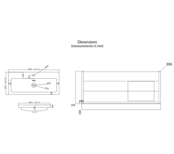 Technical drawing QS-V102738 / SUPREMEFURN015