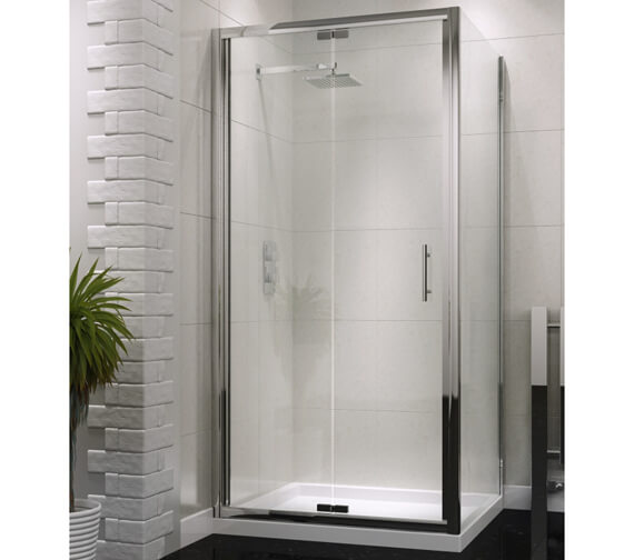 Harrison Bathrooms A6 Bifold Semi Frame-less Door
