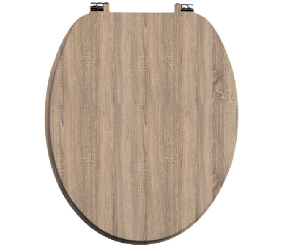 Alternate image of Harrison Bathrooms Soft Close Wooden Toilet Seats