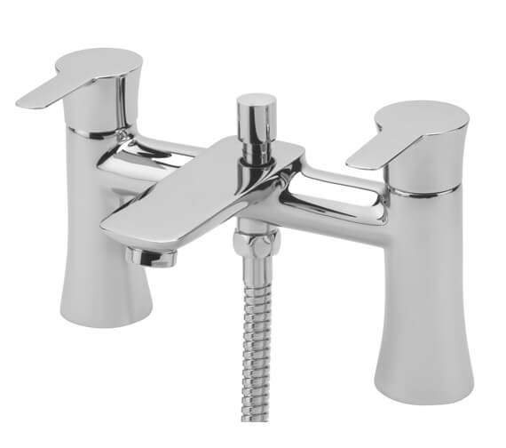 Tre Mercati Balena Pillar Bath Shower Mixer Tap With Kit