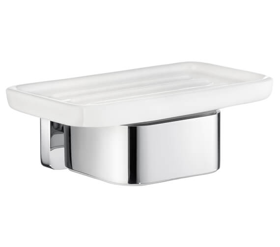 Smedbo ICE Chrome Holder With Soap Dish
