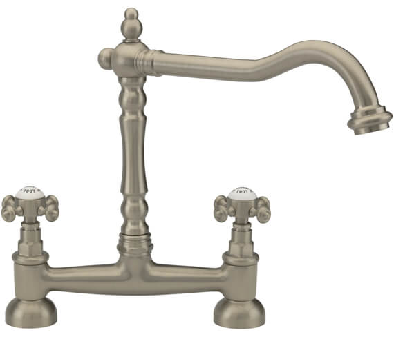 Additional image of Tre Mercati French Classic Bridge Sink Mixer Tap