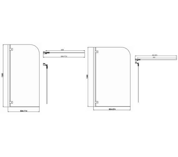 Technical drawing QS-V102788 / KLBSSC0650
