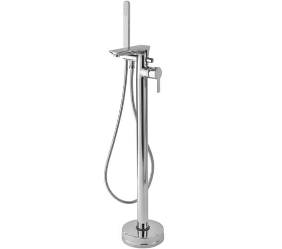 Tre Mercati Balena Floor Mounted Bath Shower Mixer Tap With Kit
