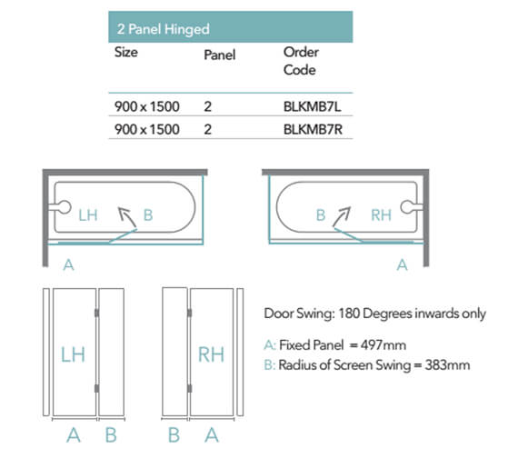 Technical drawing QS-V103380 / BLKMB7L