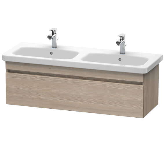 Duravit DuraStyle 1230 x 448mm Wall Mounted 1 Pull Out Compartment Vanity Unit