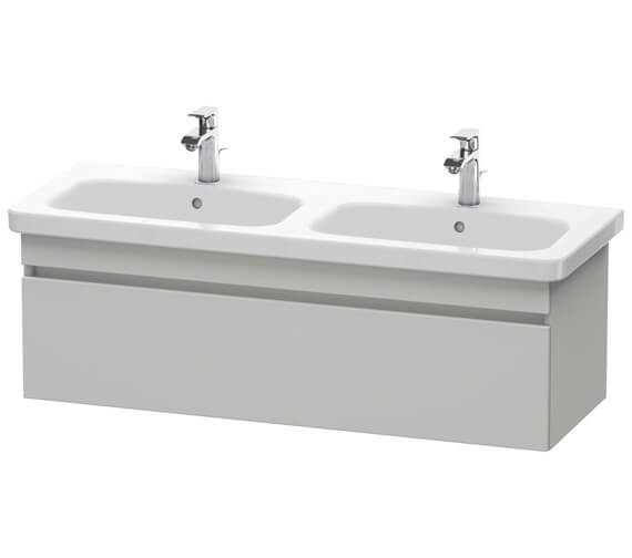 Additional image of Duravit DuraStyle 1230 x 448mm Wall Mounted 1 Pull Out Compartment Vanity Unit