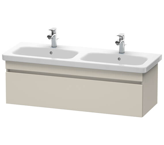 Alternate image of Duravit DuraStyle 1230 x 448mm Wall Mounted 1 Pull Out Compartment Vanity Unit