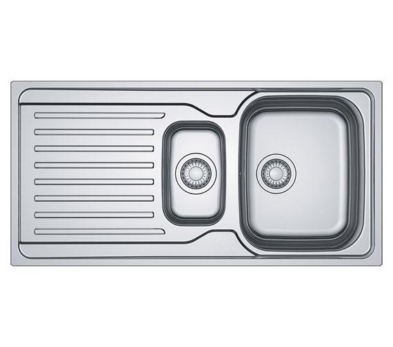 Franke Antea AZN 651 Stainless Steel 1.5 Bowl Kitchen Sink