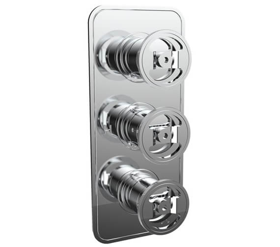 Crosswater Union Thermostatic Shower Valve With 3 Way Diverter