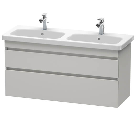 Additional image of Duravit DuraStyle 1230 x 448mm Double Drawer Vanity Unit