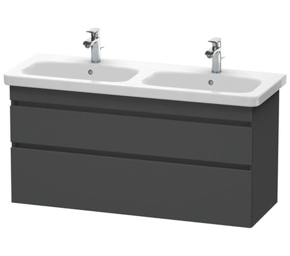 Alternate image of Duravit DuraStyle 1230 x 448mm Double Drawer Vanity Unit