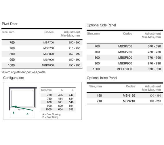 Technical drawing QS-V9358 / MBP700