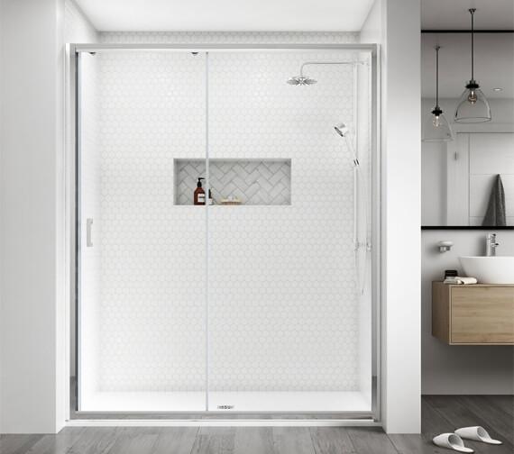 Aqualux Shine 8 2000mm High Sliding Door