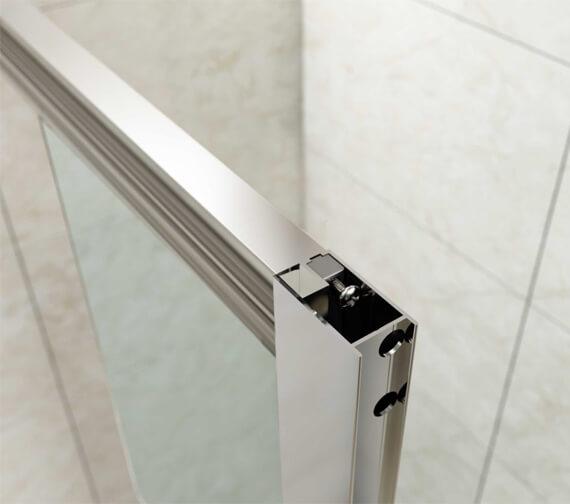 Alternate image of Merlyn Mbox 1900mm Height Bifold Shower Door
