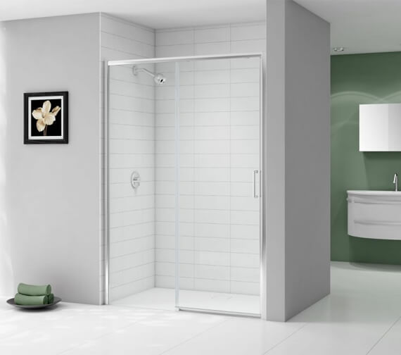 Merlyn Ionic Express Low Level Sliding Shower Door - 1900mm Height