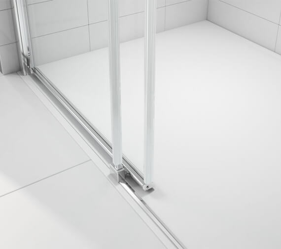 Additional image of Merlyn Ionic Express Low Level Sliding Shower Door - 1900mm Height