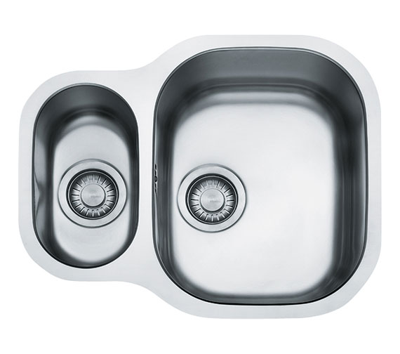 Franke Compact Plus CPX 160P Stainless Steel 1.5 Bowl Undermount Sink