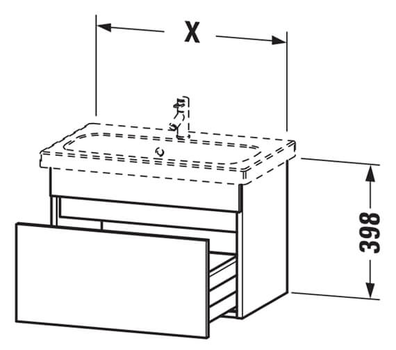 Technical drawing QS-V63443 / DS630300909