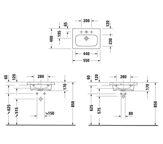 Technical drawing QS-V63444 / DS640303131