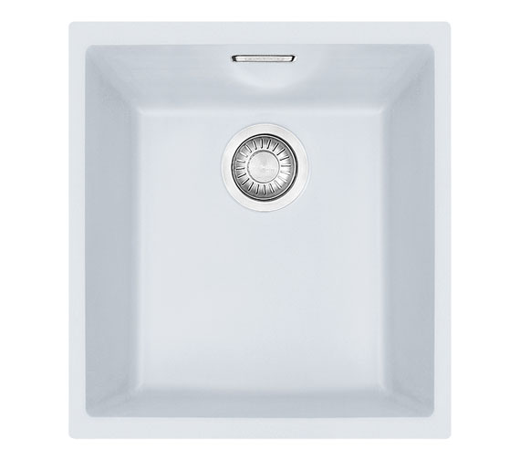 Franke Sirius SID 110 34 Tectonite 1.0 Bowl Polar White Undermount Sink