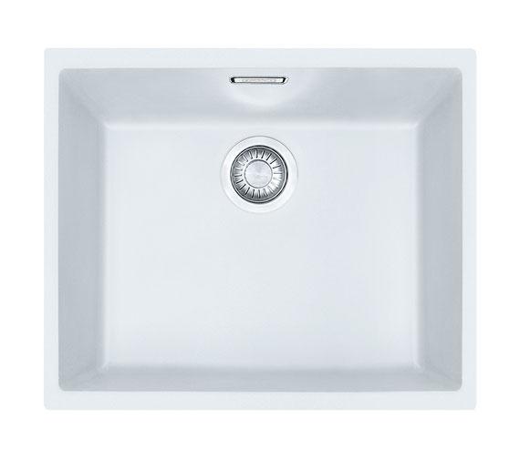 Franke Sirius SID 110 50 Tectonite 1.0 Bowl Polar White Undermount Sink