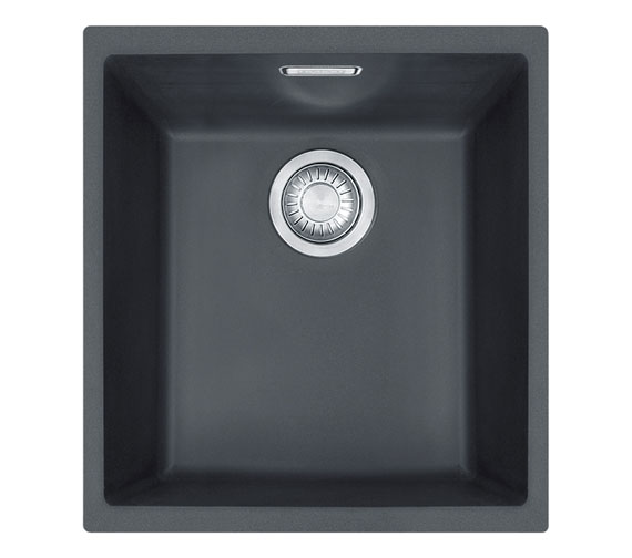 Additional image of Franke Sirius SID 110 34 Tectonite 1.0 Bowl Polar White Undermount Sink