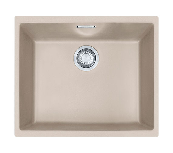 Additional image of Franke Sirius SID 110 50 Tectonite 1.0 Bowl Polar White Undermount Sink