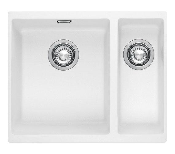 Franke Sirius SID 160 Tectonite 1.5 Bowl Kitchen Undermount Sink