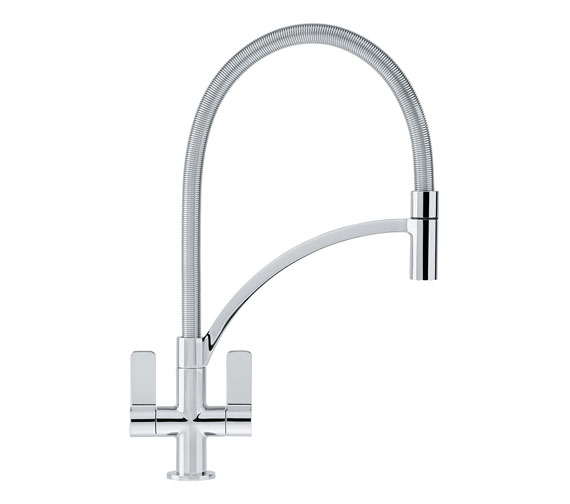 Franke Wave Pull-Out Nozzle Kitchen Sink Mixer Tap