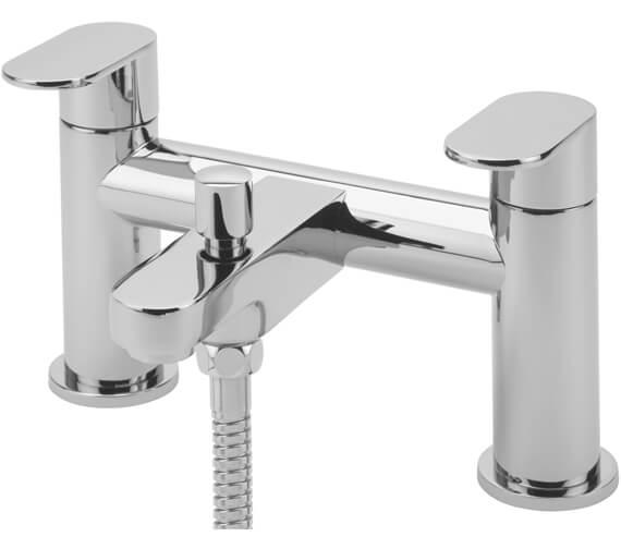 Tre Mercati Geco Pillar Bath Shower Mixer Tap With Kit