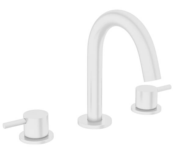 Alternate image of Crosswater MPRO 3 Hole Deck Mounted Basin Mixer Tap