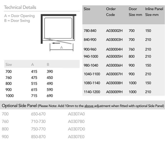 Technical drawing QS-V33268 / A030002H