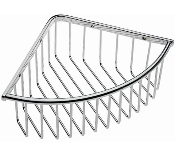 Tre Mercati Wall Mounted Deep Triangular Corner Basket