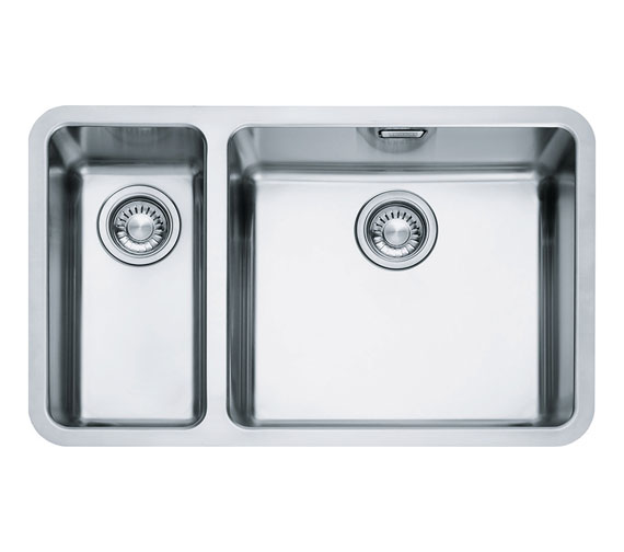 Franke Kubus KBX 160 45-20 Stainless Steel 1.5 Bowl Undermount Sink