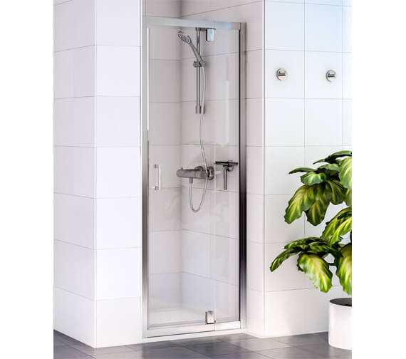 Aqualux Shine 6 1850mm High Pivot Shower Door