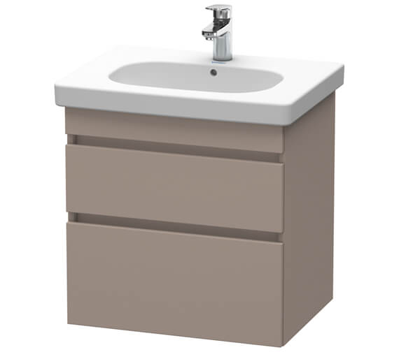 Duravit DuraStyle Wall Hung 2 Drawers Vanity Unit For D-Code Basin