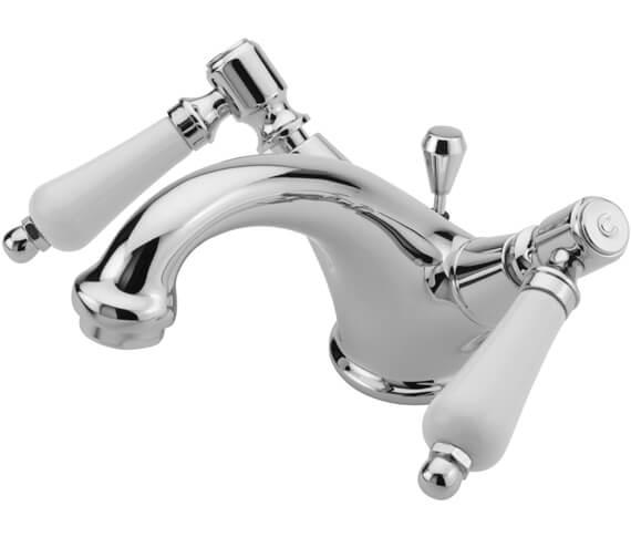 Tre Mercati Victoria Bianco Mono Basin Mixer Tap With Waste