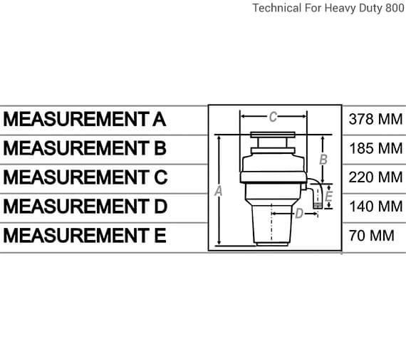 Technical drawing QS-V13135 / WDU500/