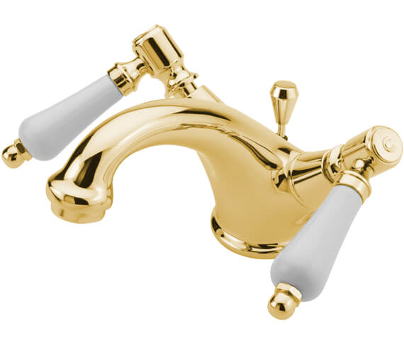 Alternate image of Tre Mercati Victoria Bianco Mono Basin Mixer Tap With Waste