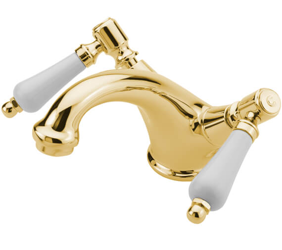 Additional image of Tre Mercati Victoria Bianco Mono Basin Mixer Tap With Waste