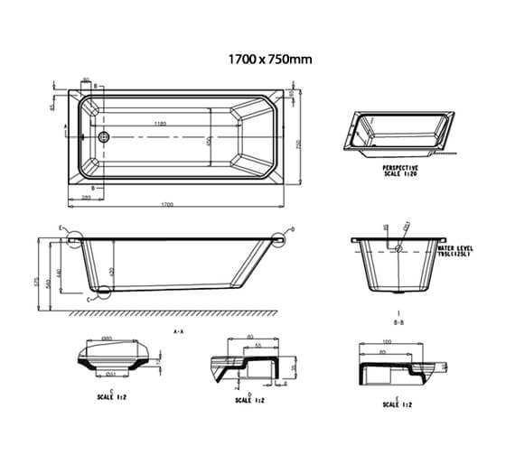 Technical drawing QS-V34110 / E28