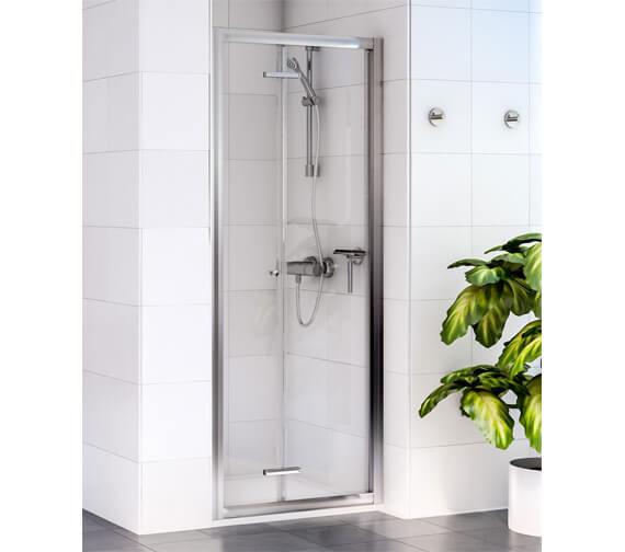 Aqualux Shine 6 1850mm High Bi-Fold Shower Door