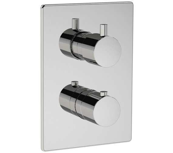 Methven Kaha 2 Outlet Concealed Thermostatic Mixer Valve With ABS Plate