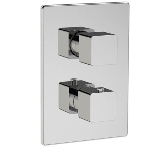Methven Kiri Concealed Thermostatic Mixer Valve With ABS Plate
