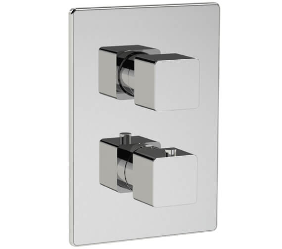 Methven Kiri 2 Outlet Concealed Thermostatic Mixer Valve With ABS Plate