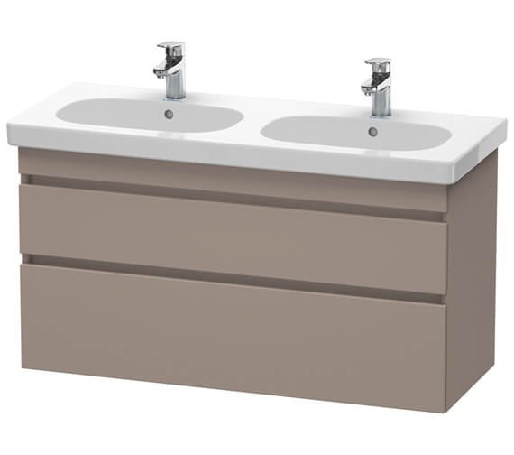 Duravit DuraStyle 1150mm Wall Mounted Vanity Unit For D-Code Double Basin