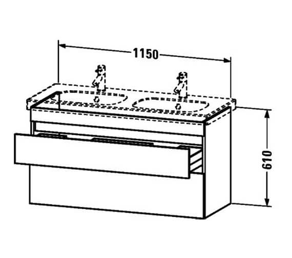 Technical drawing QS-V24991 / DS648604343