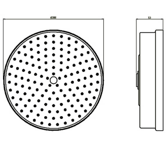 Technical drawing QS-V100536 / PRI08C_EC