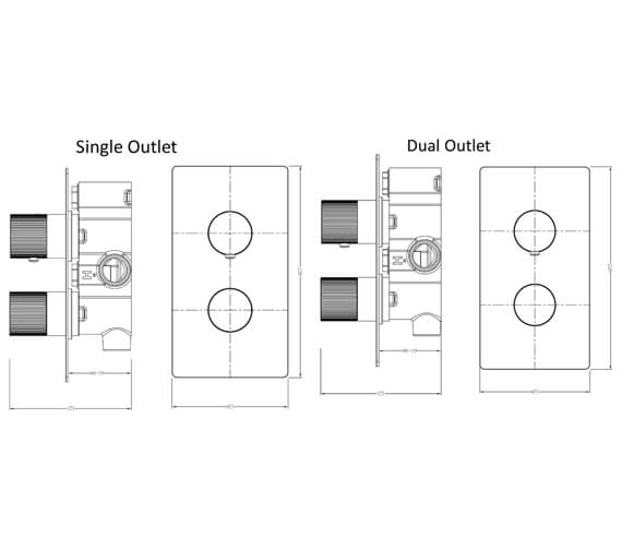 Technical drawing QS-V103409 / RAKAMA3301C